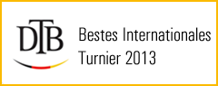 Bestes internationales Turnier 2013